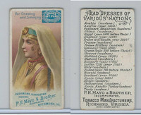 N305 Mayo, Head Dresses Nations, 1890, Cashmere
