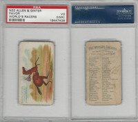 N32 Allen & Ginter, Worlds Racers, 1888, Favor, PSA 3 MK VG