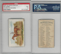 N32 Allen & Ginter, Worlds Racers, 1888, My Own, PSA 5 EX