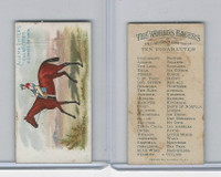 N32 Allen & Ginter, Worlds Racers, 1888, The Bard