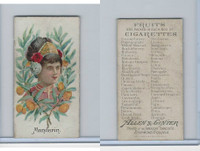 N12 Allen & Ginter, Fruits, 1891, Mandarin