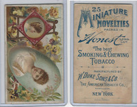 N120 Duke, Miniature Novelties, 1891, Easel and Oval