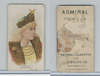 N388 Admiral Cigarettes, National Types, Sailor Girls, 1890, Russia