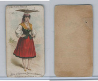 N407 Marburg Bros., National Costumes, 1887, Southern France, Fisher