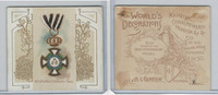 N44 Allen & Ginter, World's Decorations, 1890, #18 Hohenzollern, Prussia