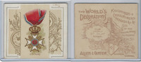 N44 Allen & Ginter, World's Decorations, 1890, #41 St. Olaf, Norway
