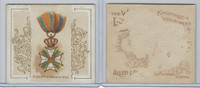 N44 Allen & Ginter, World's Decorations, 1890, #49 William Netherlands