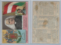 N126 Duke, Rulers, Flags, Coats of Arms Tri-Fold, 1889, Hungary, Franz Luszt