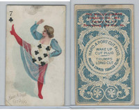 N458 Hard A Port, Playing Cards, 1890, Club 7