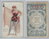 N458 Hard A Port, Playing Cards, 1890, Club 8