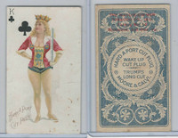 N458 Hard A Port, Playing Cards, 1890, Club King