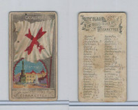 N6 Allen & Ginter, City Flags, 1888, Catalonia, Spain
