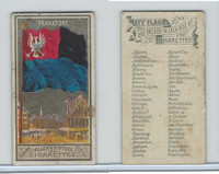 N6 Allen & Ginter, City Flags, 1888, Frankfort, Germany