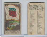 N6 Allen & Ginter, City Flags, 1888, Amiens, France