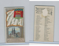 N6 Allen & Ginter, City Flags, 1888, Bordeaux