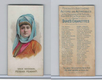 N71 Duke, Actors and Actresses - 2nd Series, 1889, Grace Henderson, Persian