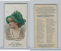 N71 Duke, Actors and Actresses - 2nd Series, 1889, Cora Tanner, Lady France