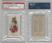 N73 Duke, Fancy Dress Ball Costumes,  1887, The Apothecary's Maid, PSA 4 VGEX