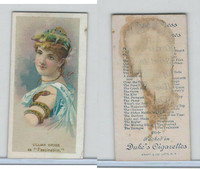 N73 Duke, Fancy Dress Ball Costumes,  1887, Fascination, Lillian Grubb