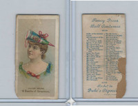 N73 Duke, Fancy Dress Ball Costumes,  1887, A Bundle of Sweetness
