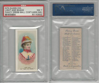 N73 Duke, Fancy Dress Ball Costumes,  1887, Light and Shade, PSA 7 MK NM