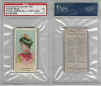 N73 Duke, Fancy Dress Ball Costumes,  1887, Sweet Peas, PSA 3 VG
