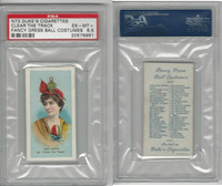 N73 Duke, Fancy Dress Ball Costumes,  1887, Clear The Track, PSA 6.5 EXMT+