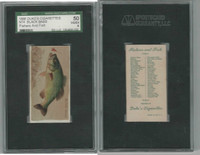 N74 Duke, Fishers and Fish, 1888, Black Bass, SGC 50 VGEX