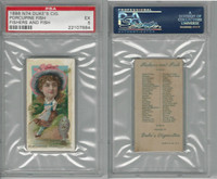 N74 Duke, Fishers and Fish, 1888, Porcupine Fish, PSA 5 EX