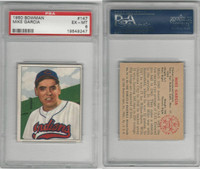 1950 Bowman Baseball, #147 Mike Garcia RC , Indians, PSA 6 EXMT