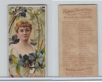 N75 Duke, Floral Beauties, 1892, Clematis, Mental Beauty