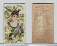 N75 Duke, Floral Beauties, 1892, Cobaea, Gossip