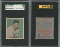 1949 Bowman Baseball, #93 Ed Stevens Pittsburgh Pirates, SGC 88 NMMT