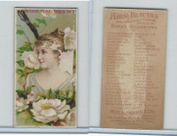 N75 Duke, Floral Beauties, 1892, Bridal Rose
