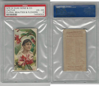 N75 Duke, Floral Beauties, 1892, Cactus, PSA 4 VGEX