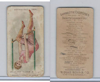 N77 Duke, Gymnastic Exercises, 1887, Backward Knee Swing