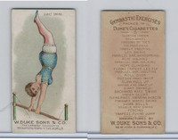 N77 Duke, Gymnastic Exercises, 1887, Giant Swing