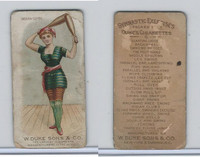 N77 Duke, Gymnastic Exercises, 1887, Indian Clubs