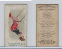 N77 Duke, Gymnastic Exercises, 1887, Leg Swing