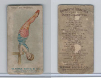 N77 Duke, Gymnastic Exercises, 1887, Parallel Bar, Handspring