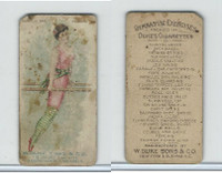N77 Duke, Gymnastic Exercises, 1887, Parallel Bar, Walking