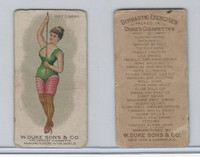 N77 Duke, Gymnastic Exercises, 1887, Rope Climbing