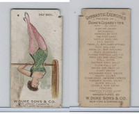 N77 Duke, Gymnastic Exercises, 1887, Back Wheel