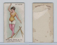 N77 Duke, Gymnastic Exercises, 1887, Rope Walking