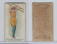 N77 Duke, Gymnastic Exercises, 1887, Slanting Ladder