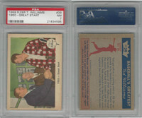 1959 Fleer Baseball, #39 1950 , Williams, Cronin, Collins, PSA 7 NM