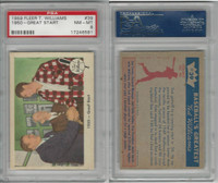 1959 Fleer Baseball, #39 Williams, Cronin, Collins, PSA 8 NMMT