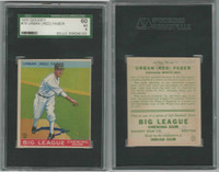 1933 Goudey Baseball, #79 Red Faber HOF, White Sox, SGC 60 EX