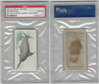 N8 Allen & Ginter, Fish From American Waters, 1889, Swordfish, PSA 2 Good