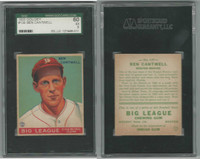 1933 Goudey Baseball, #139 Ben Cantwell, Braves, SGC 60 EX